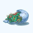 Dragon Hatchling by LauralienArt