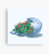 Dragon Hatchling Metal Print