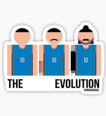 The Steven Adams' Evolution Sticker