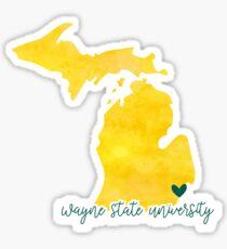 Wayne State University Sticker