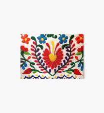 Mexican Flowers Art Board Print