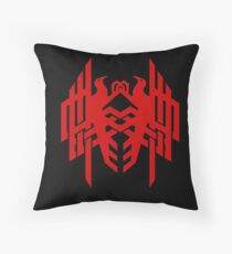 Amell Family Crest Throw Pillow