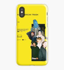 all american trash cover iPhone Case/Skin