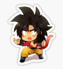 !Goku! Super Saiyan 4 Chibi Sticker