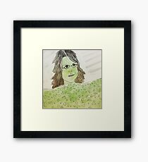 the clinique lady says i have witch undertones Framed Print