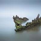 Ship Wreck by Ian Hufton