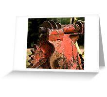 Rusty Crusty Greeting Card