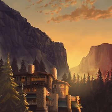 Majestic Yosemite Hotel by chateaugrief