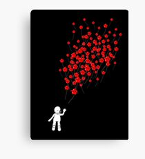 99 Red Lumaballoons Canvas Print