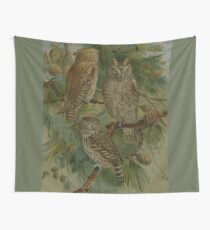 Owls in Parliment Wall Tapestry