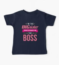 Big Sister Boss Kids Clothes