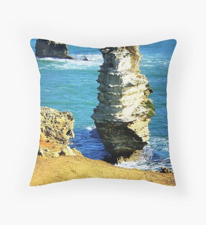 Bay of Islands. Great Ocean Rd. Port Campbell Vic. Australia Throw Pillow