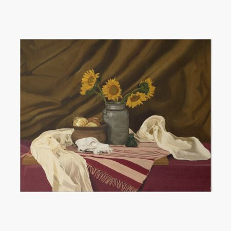 Sunflowers Art Board Print