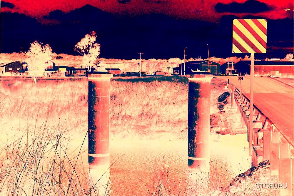 RIVER PYLONS AND SIGNAGE by OTOFURU