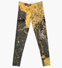 Yellow Paint and Boatyard Scraps Leggings