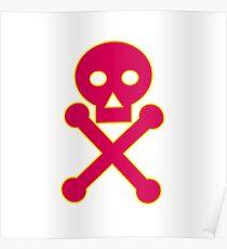 Poison Symbol Icon Poster
