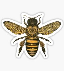 aureum bee Sticker