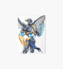 Demonic Cyborg Art Board