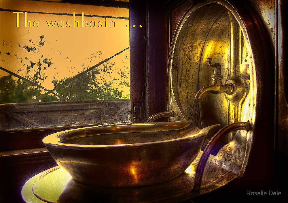 The washbasin . . . by Rosalie Dale