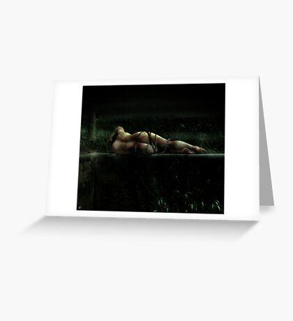 emotional inversion Greeting Card