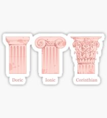 Column Orders - Rose Sticker