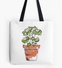 Herbs in pots - Parsley  Tote Bag