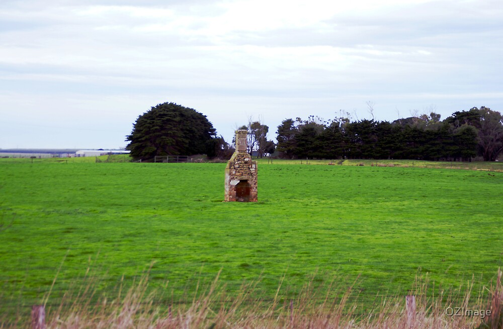 Field Chimney by OZImage