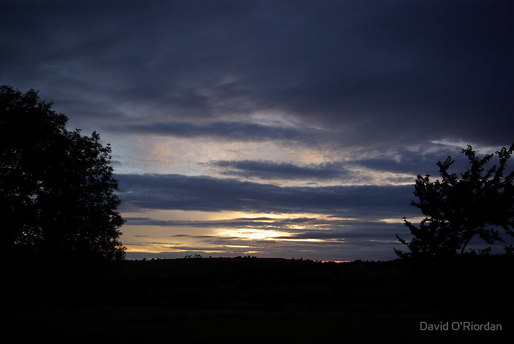 Country Sunset by David O'Riordan