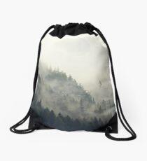 Forest Moon Drawstring Bag