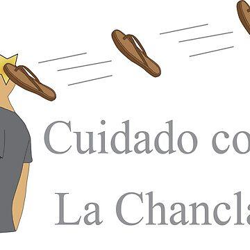 La Chancla Voladora! by Eliza434