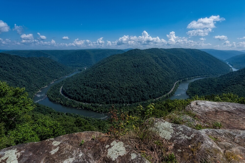 Grandview of the New River, West Virginia by mattmacpherson