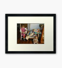 The Babysitter Framed Print