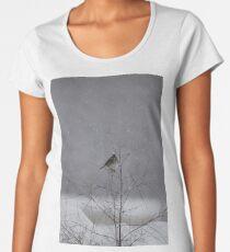 Schneevogel Frauen Premium T-Shirts