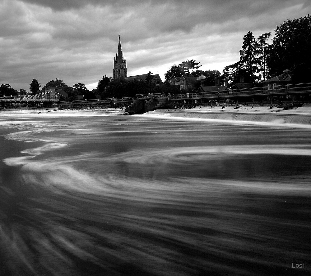 Marlow Weir by Losi