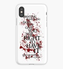 Ezio Auditore Quote iPhone Case/Skin