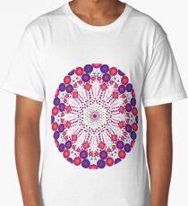 Bright Geometric Print Long T-Shirt