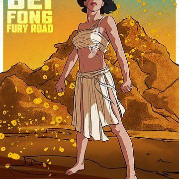 Lin Beifong: Fury Road 1 by elizabethamira
