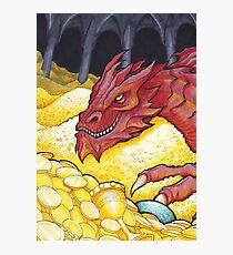 Dragon Treasure Photographic Print