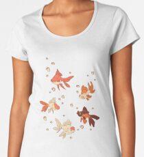 Pink Goldfish Women's Premium T-Shirt