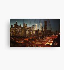 Brooklyn Bridge Skyline View Canvas Print