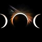 phases of the solar eclipse 2017 by ALEX GRICHENKO