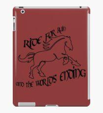 Ride for Ruin iPad Case/Skin