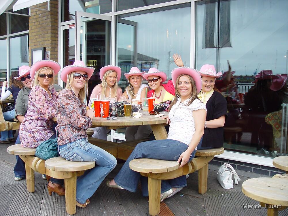 Pink Hats Great fun by Merice  Ewart-Marshall LFA