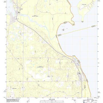 USGS TOPO Map Florida FL Salt Springs 20120710 TM by wetdryvac