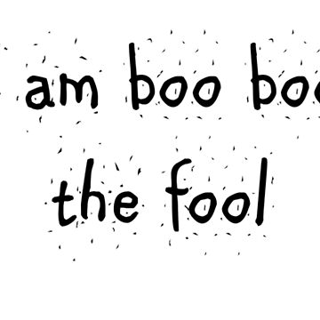Boo boo the fool by boboberry17
