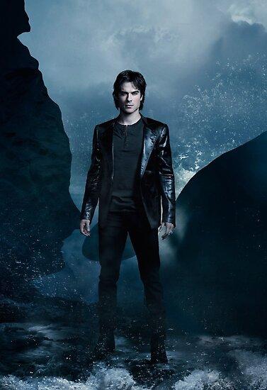damon salvatore the vampire diaries season 4 promotional