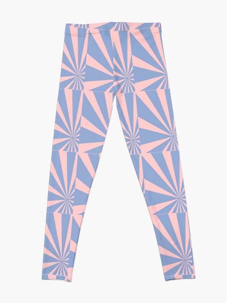 Alternate view of Pantone Colour of the Year 2016  Rose Quartz/ Serenity /Sunbust Leggings