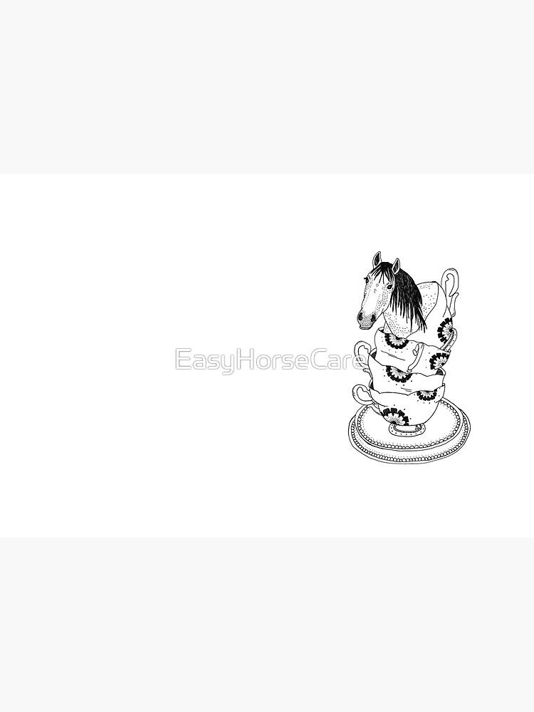 Teetasse-Pferd durch Ashley Fiona von EasyHorseCare