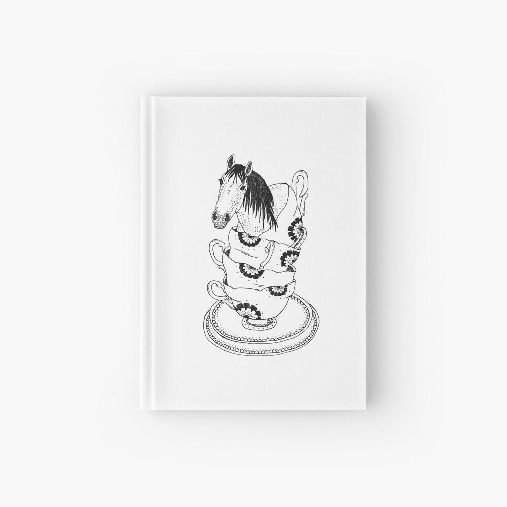Teetasse-Pferd durch Ashley Fiona Notizbuch