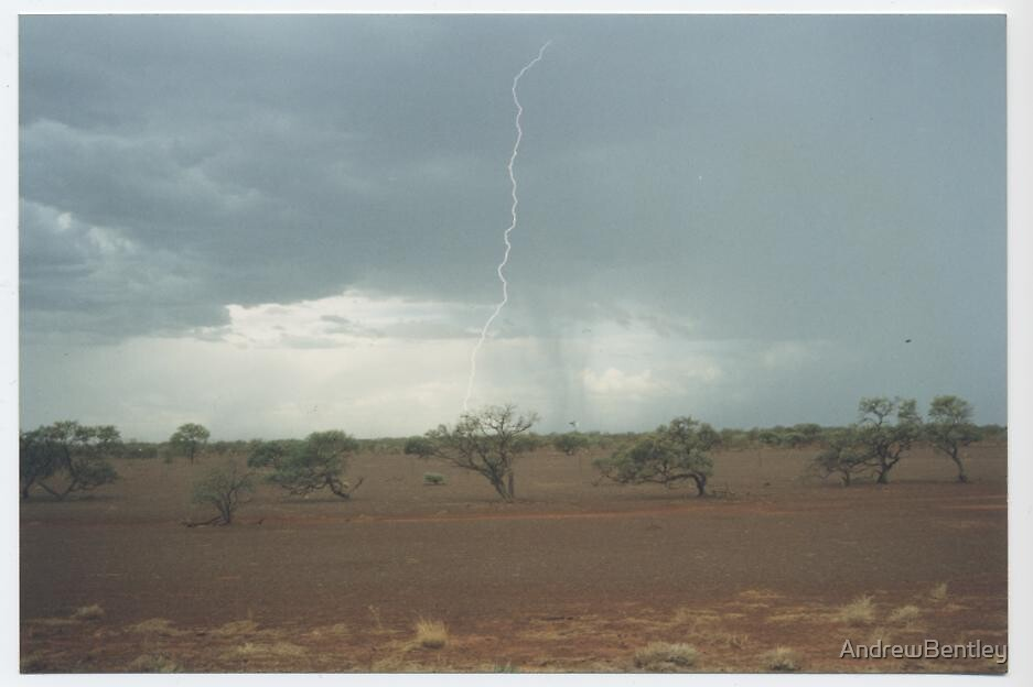 Meekatharra lightning 1994 by AndrewBentley